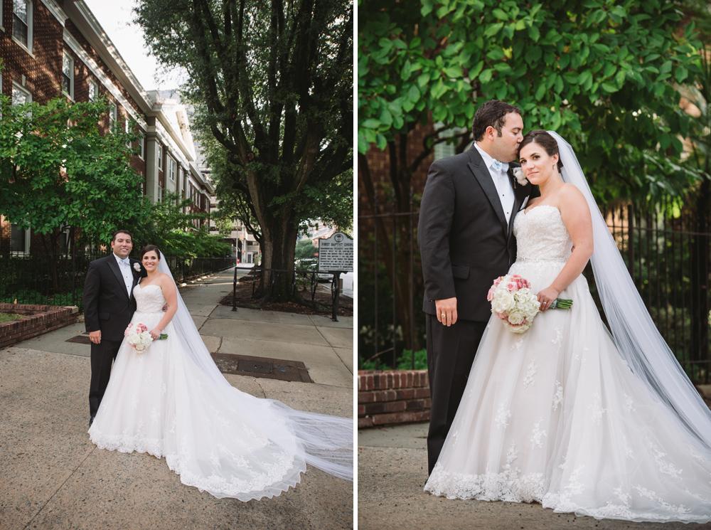 columbia sc wedding portraits
