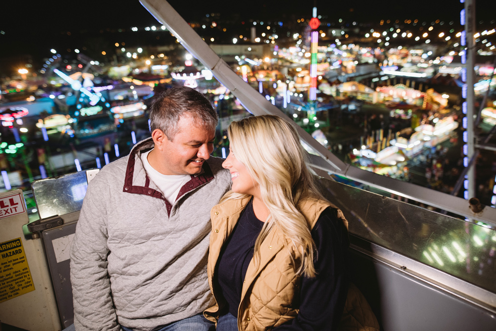 sc state fair engagement session
