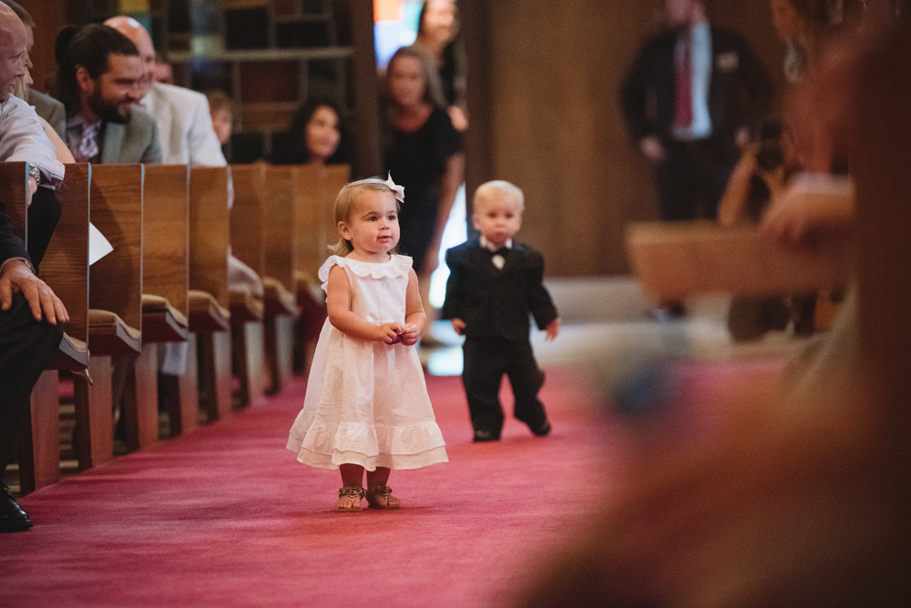 kids down the aisle