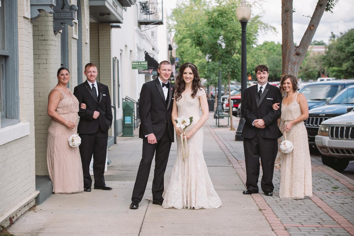 intimate bridal party aiken sc
