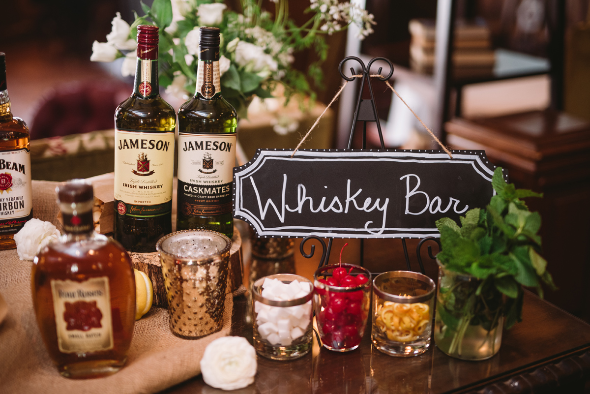 whiskey bar wedding
