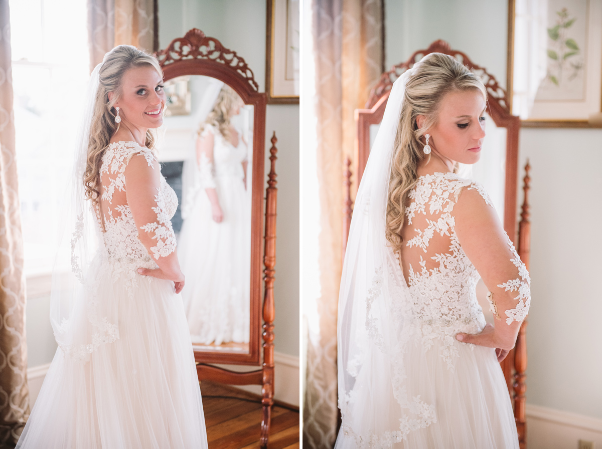 bridal portraits Lace House