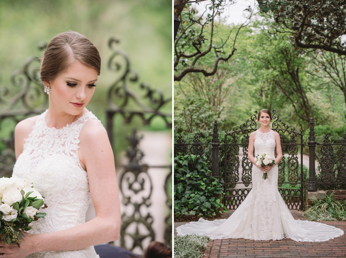 haley bridal portrait