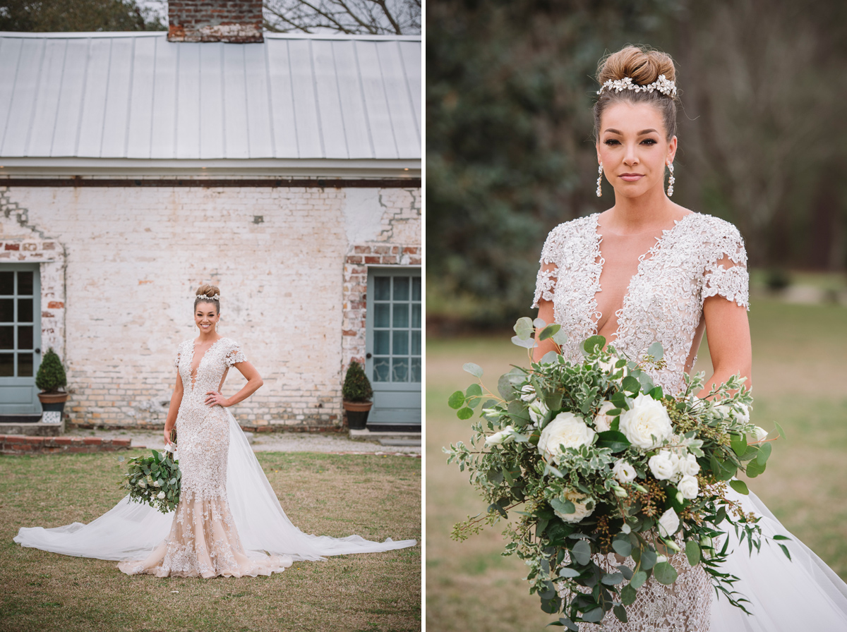 Makenzie Bridal Portraits At Wavering Place Plantation