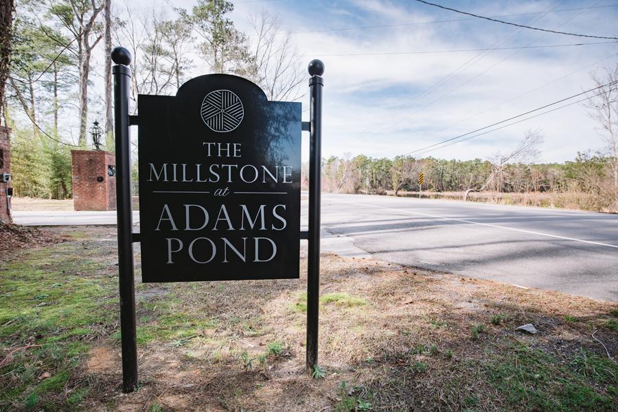 the millstone at adams pond wedding