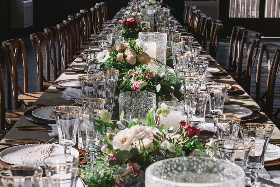 decedent table setting