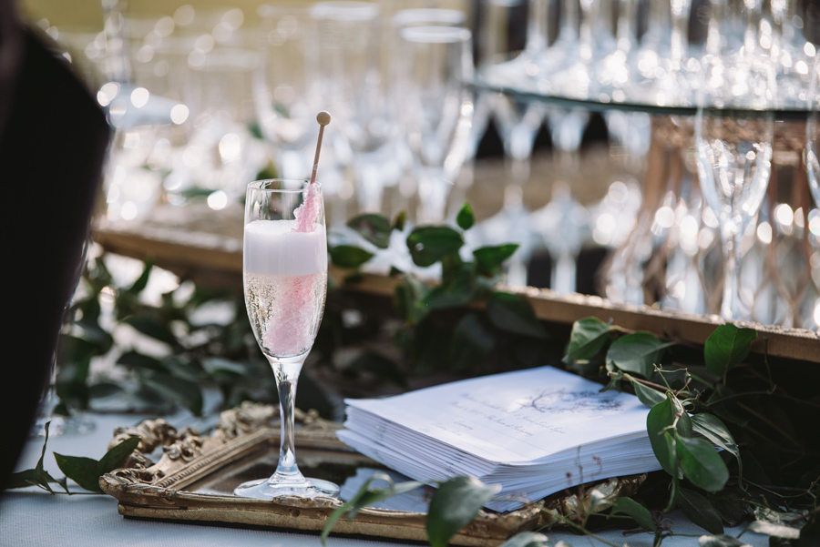 welcome cocktail at ceremony