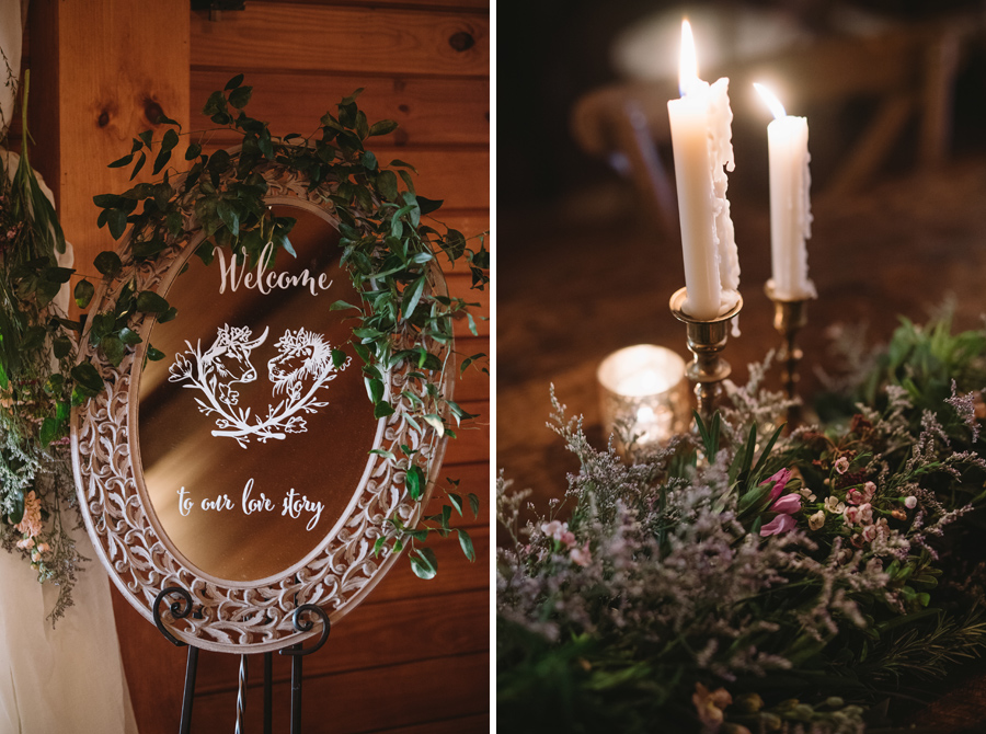 custom crest wedding