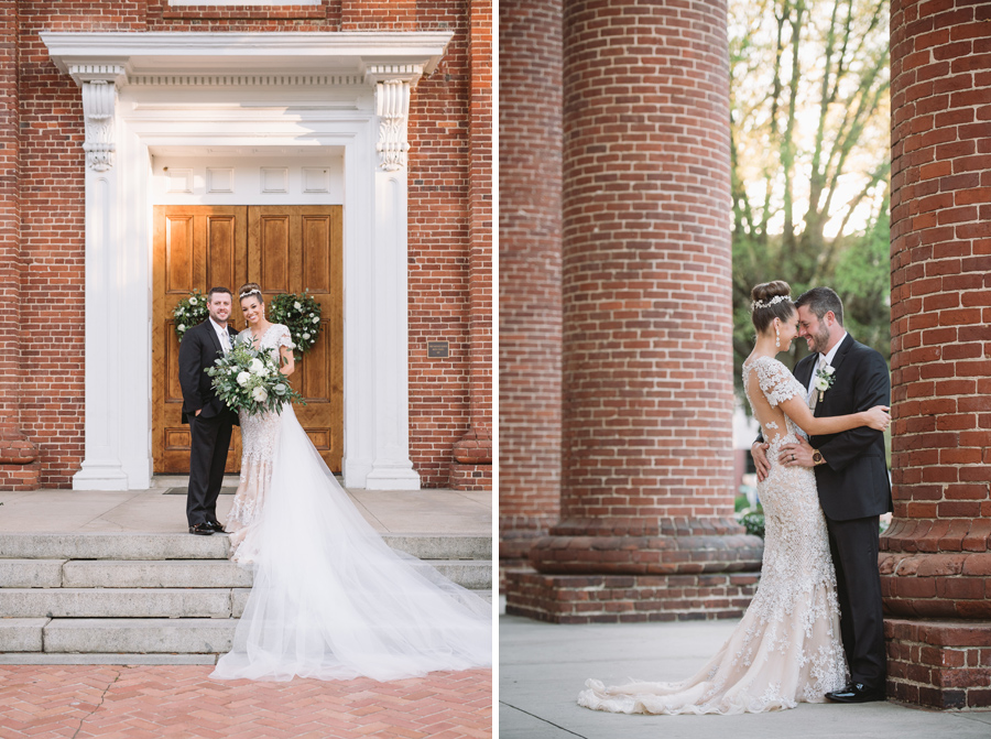 stunning couple boyce chapel