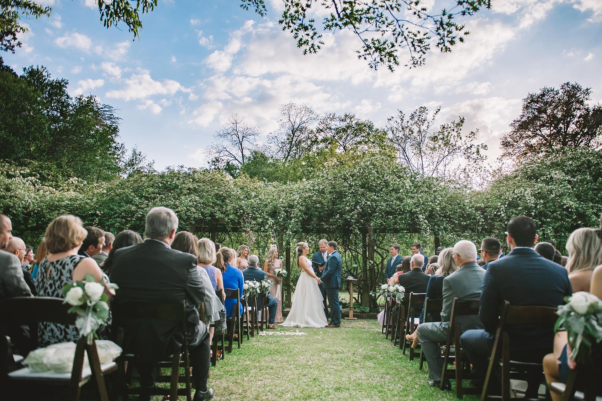 Wedding Ceremony / Lace House / Columbia, SC