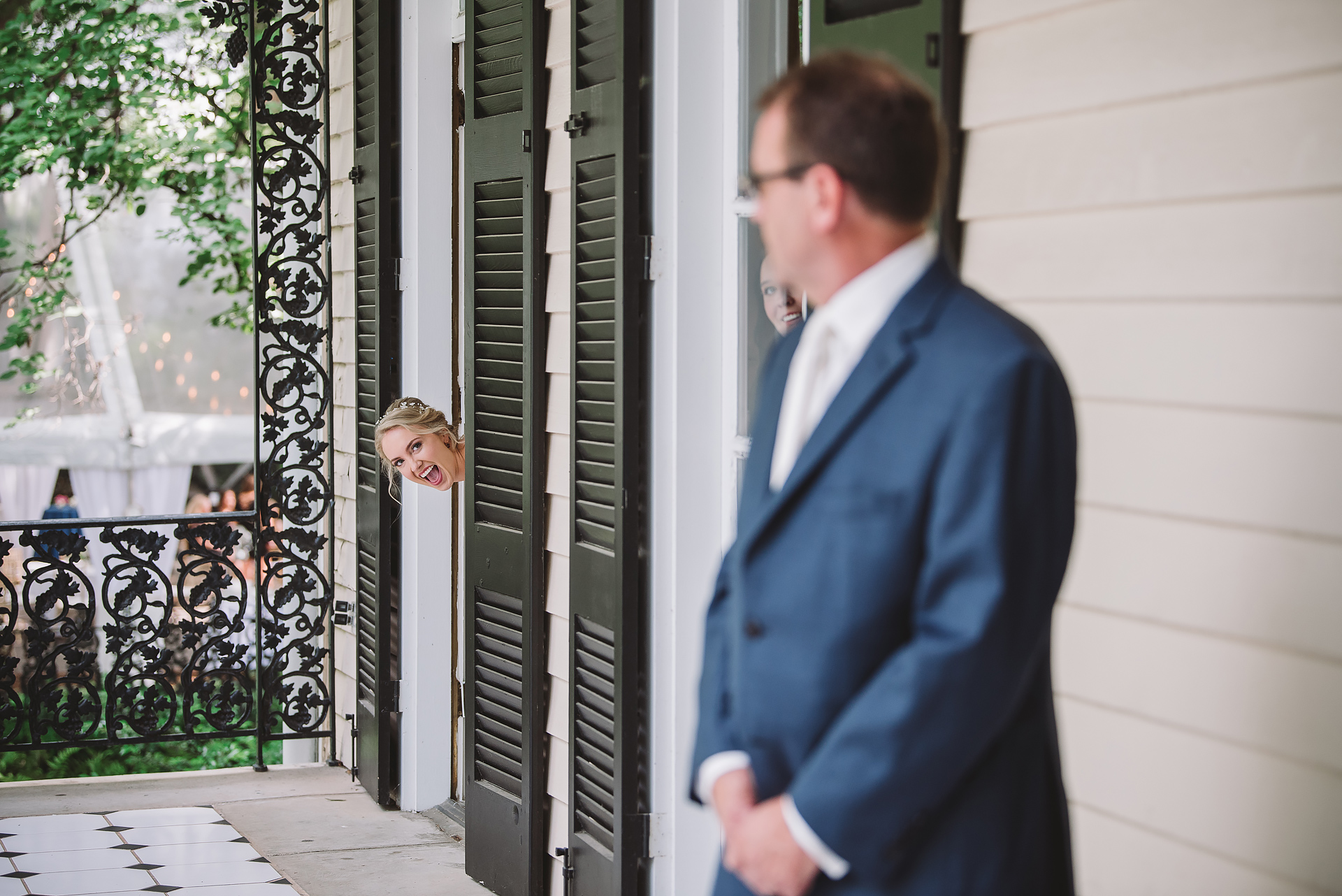 Father First Look / Lace House / Columbia, SC