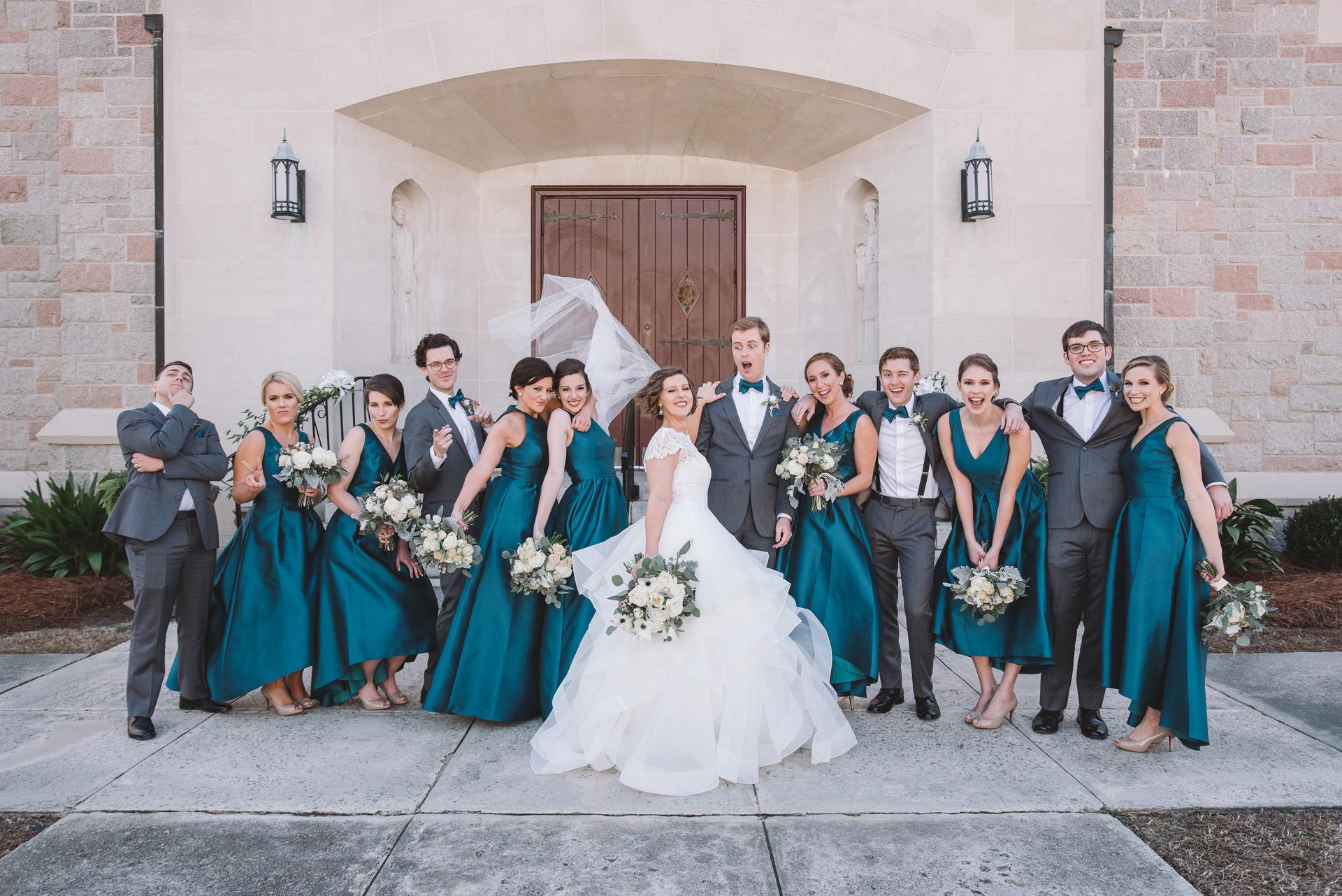 Bridal Party / St Joseph Catholic Church / Columbia SC