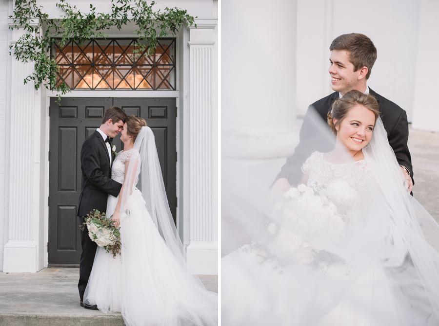 airy wedding portraits