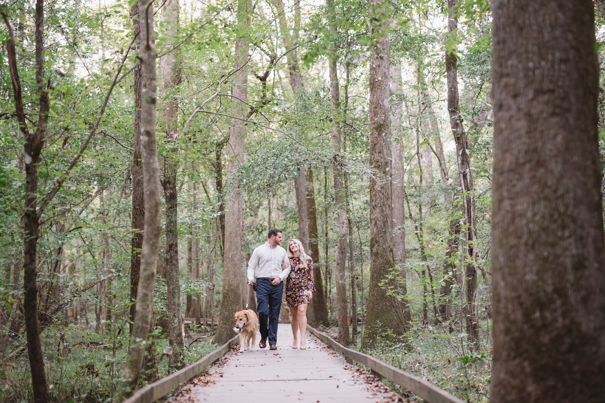 national park engagement session