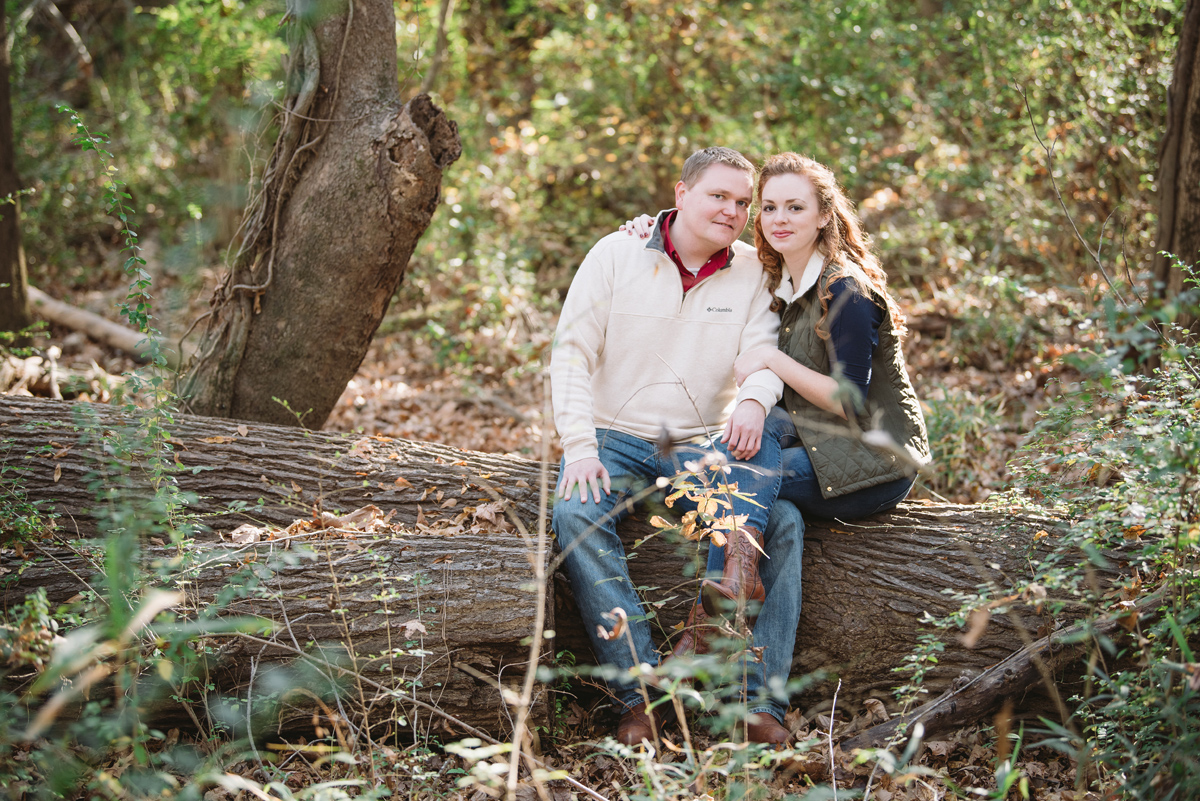fall outdoor engagement session