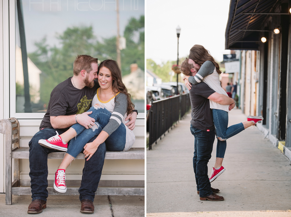 adorable engagement photos