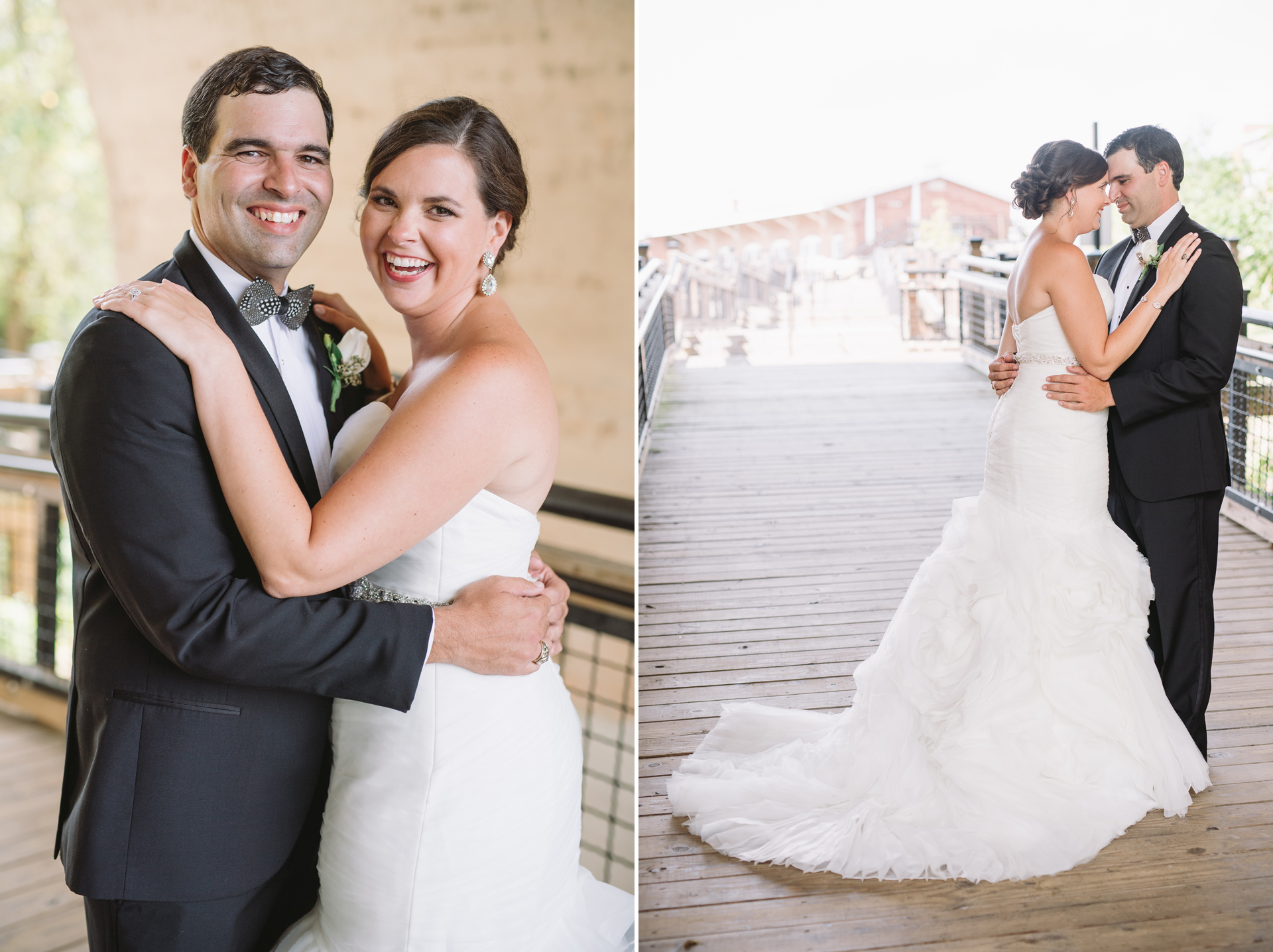 coble plaza wedding portraits
