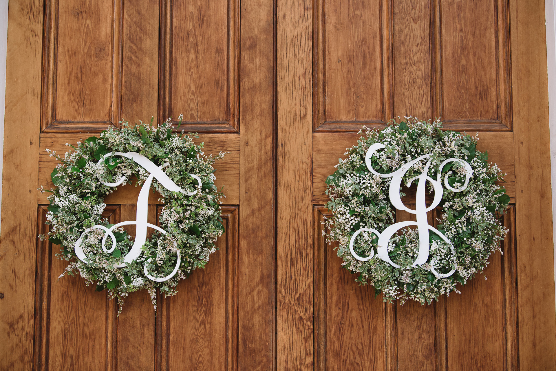 custom wedding wreaths