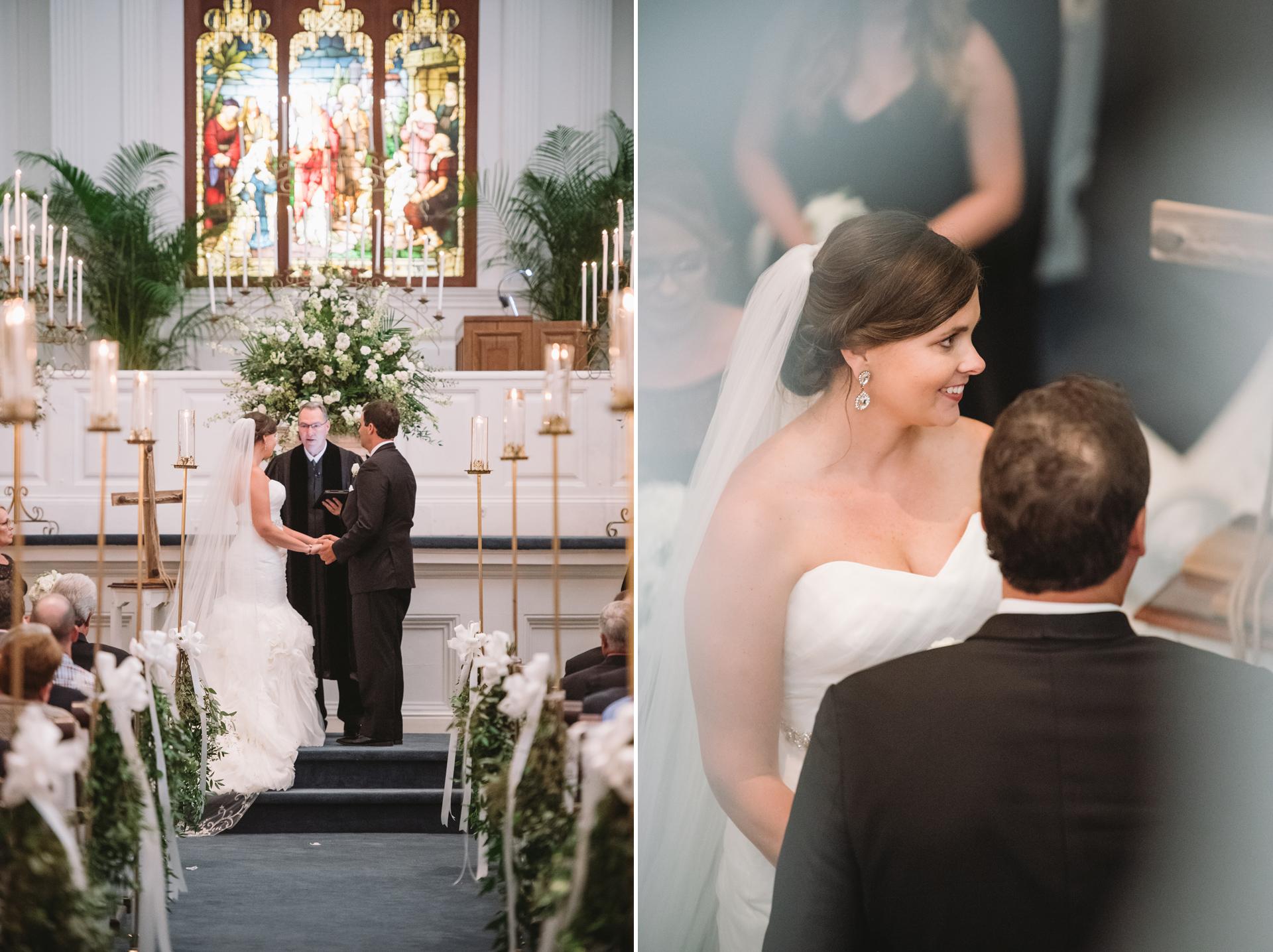 wedding at boyce chapel