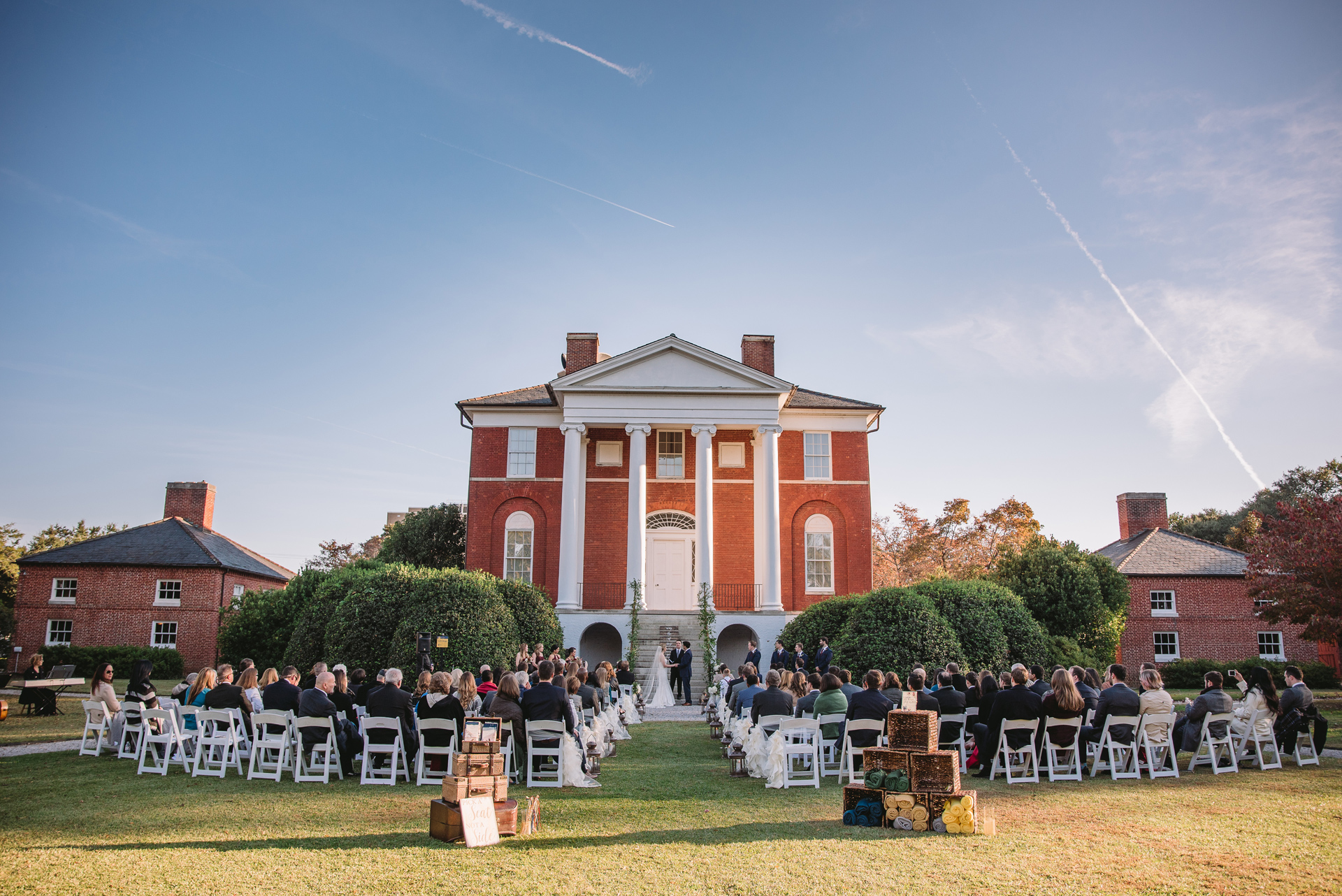 robert mills house and gardens wedding