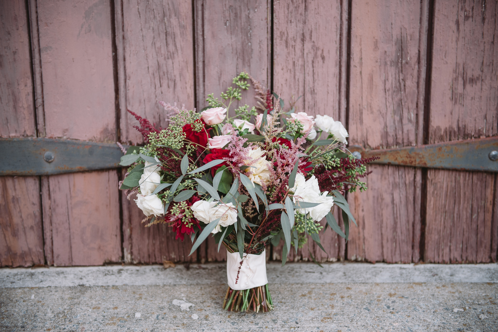 cricket newman designs brides bouquet