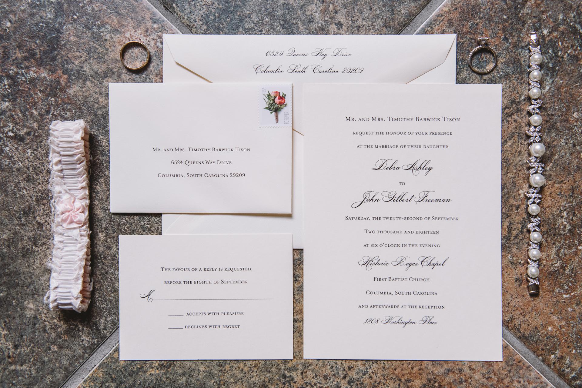 layflat invitation