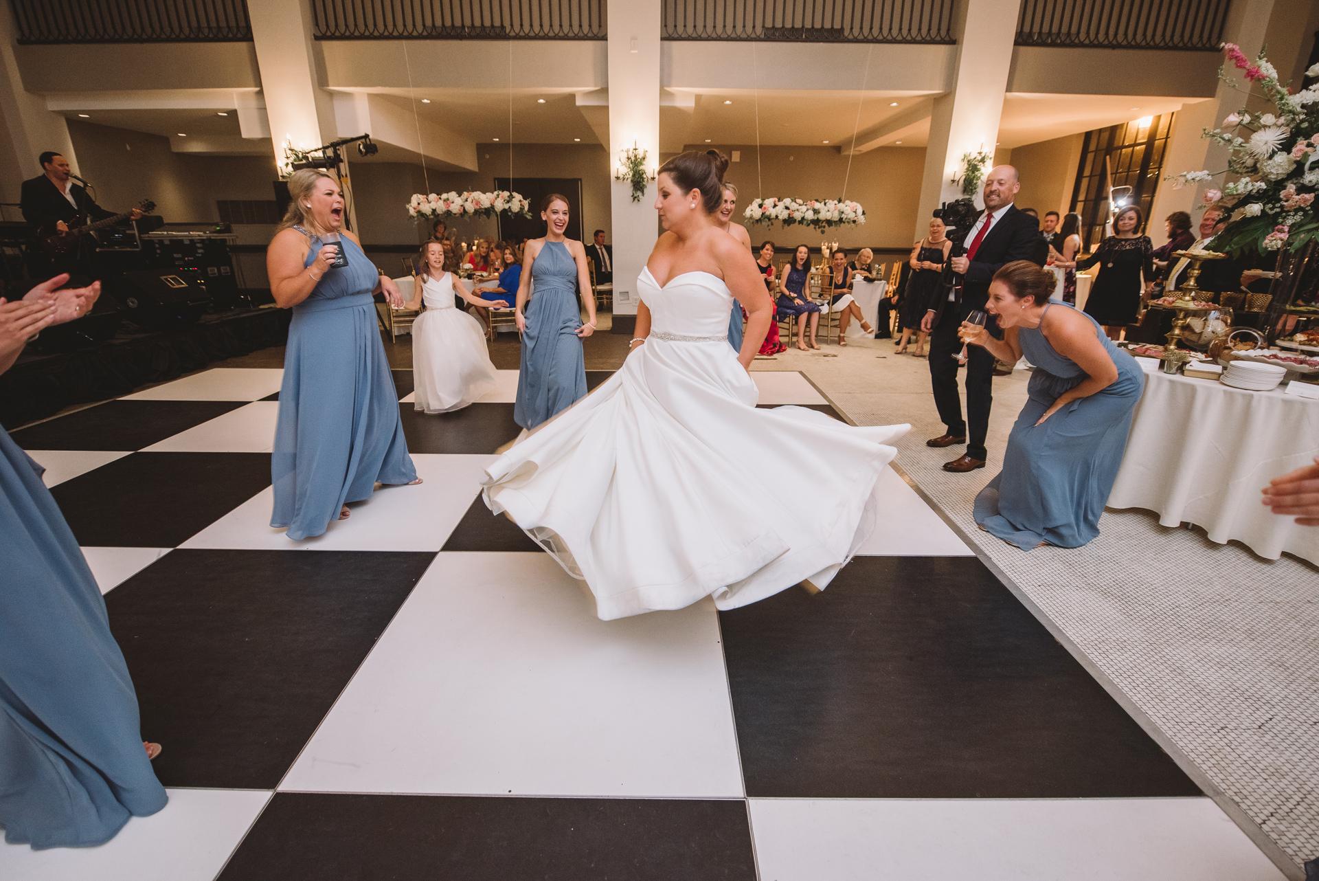 fun dancing photos reception
