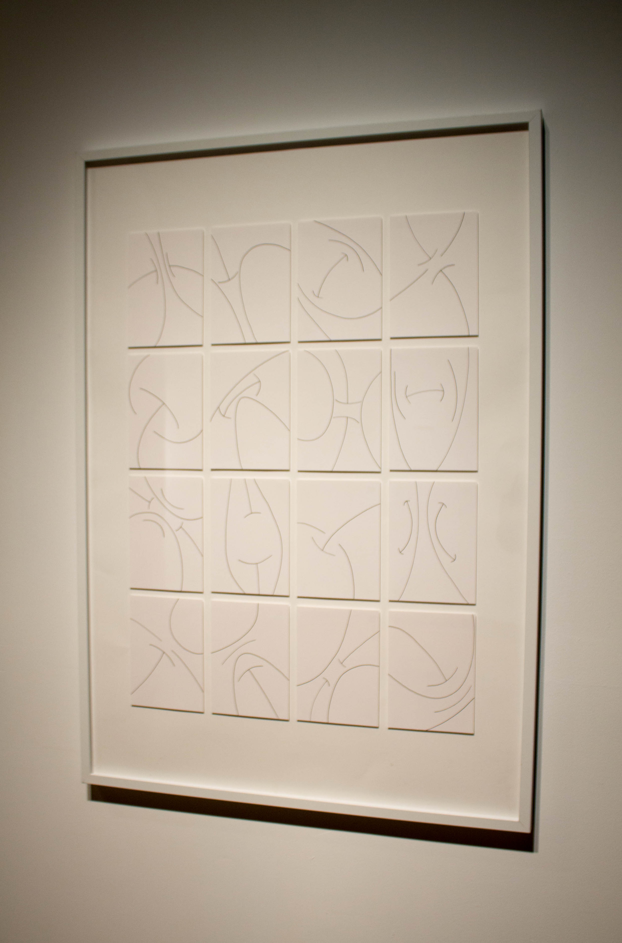 Simultaneity (Diagrams of Feeling)   - 2014 - ink on paper - 5 x 7 in. each, 27 x 39 in. mounted & framed