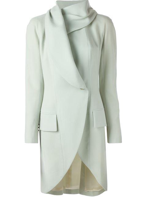 John Galliano VIntage Fold Over Coat