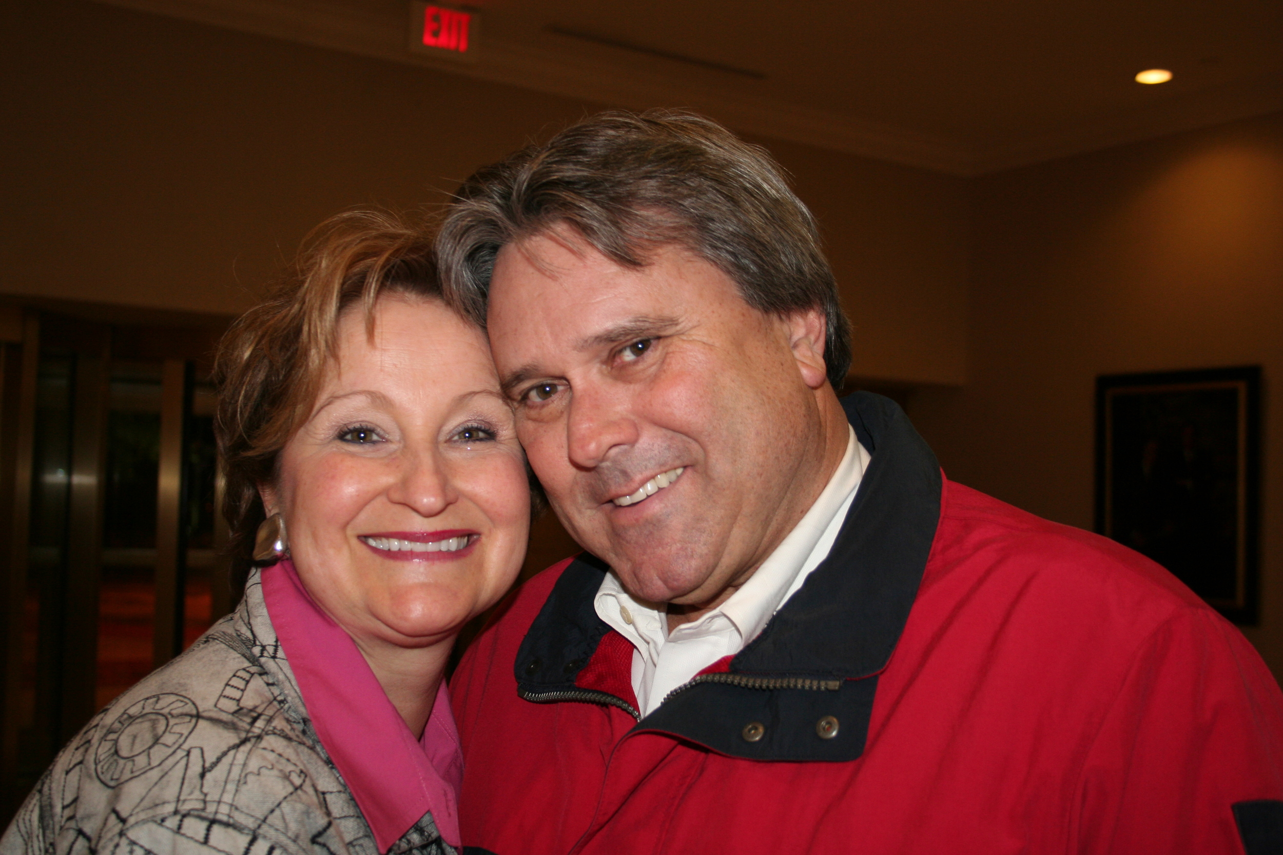 Gary and his lovely wife Nancy