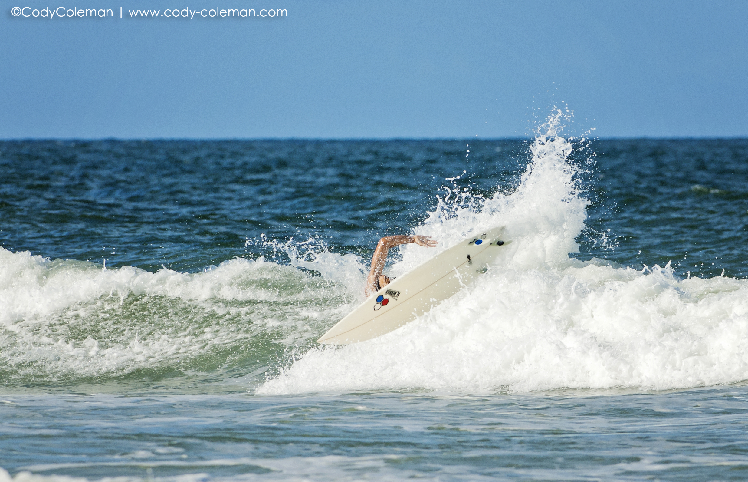 Beener came so close to landing this blow tail layback.