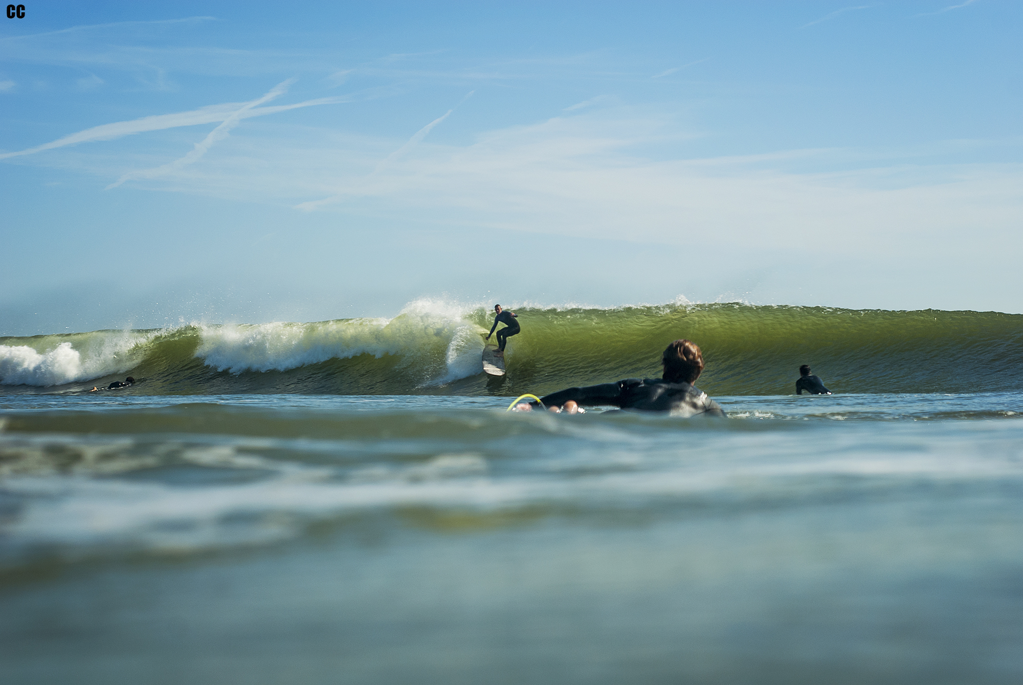 TJ Weedman deep on a long one. Don't forget TJ is 6'5.