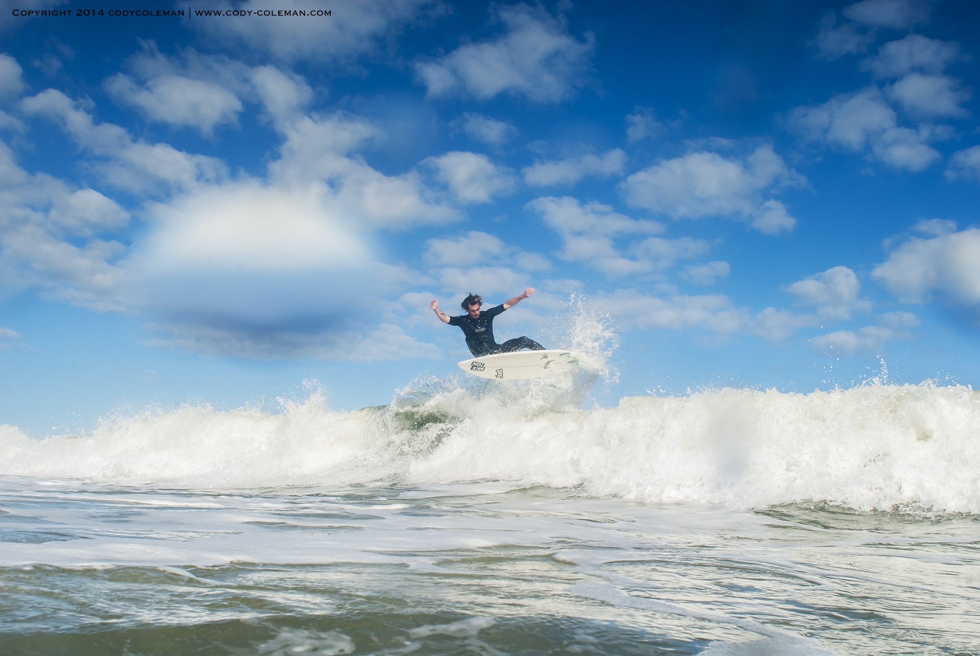 Like I said the clouds were awesome! Surfer | Seth Conboy