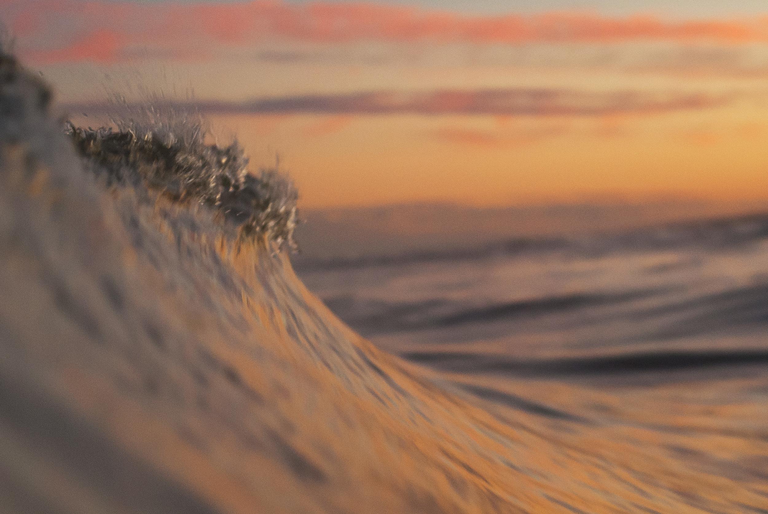 Sky meets ocean