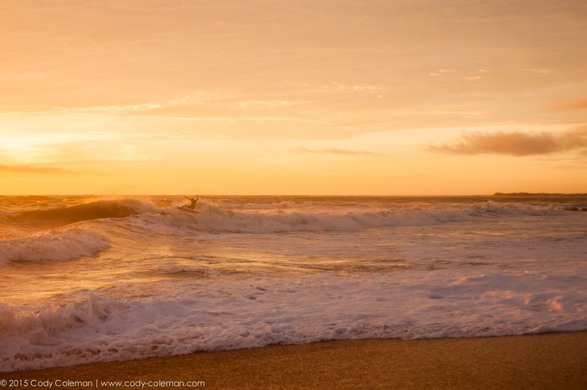 On September 28th I met up early with Casey Piester to shoot some shore break water images & snagged this one as I was walking down the beach.