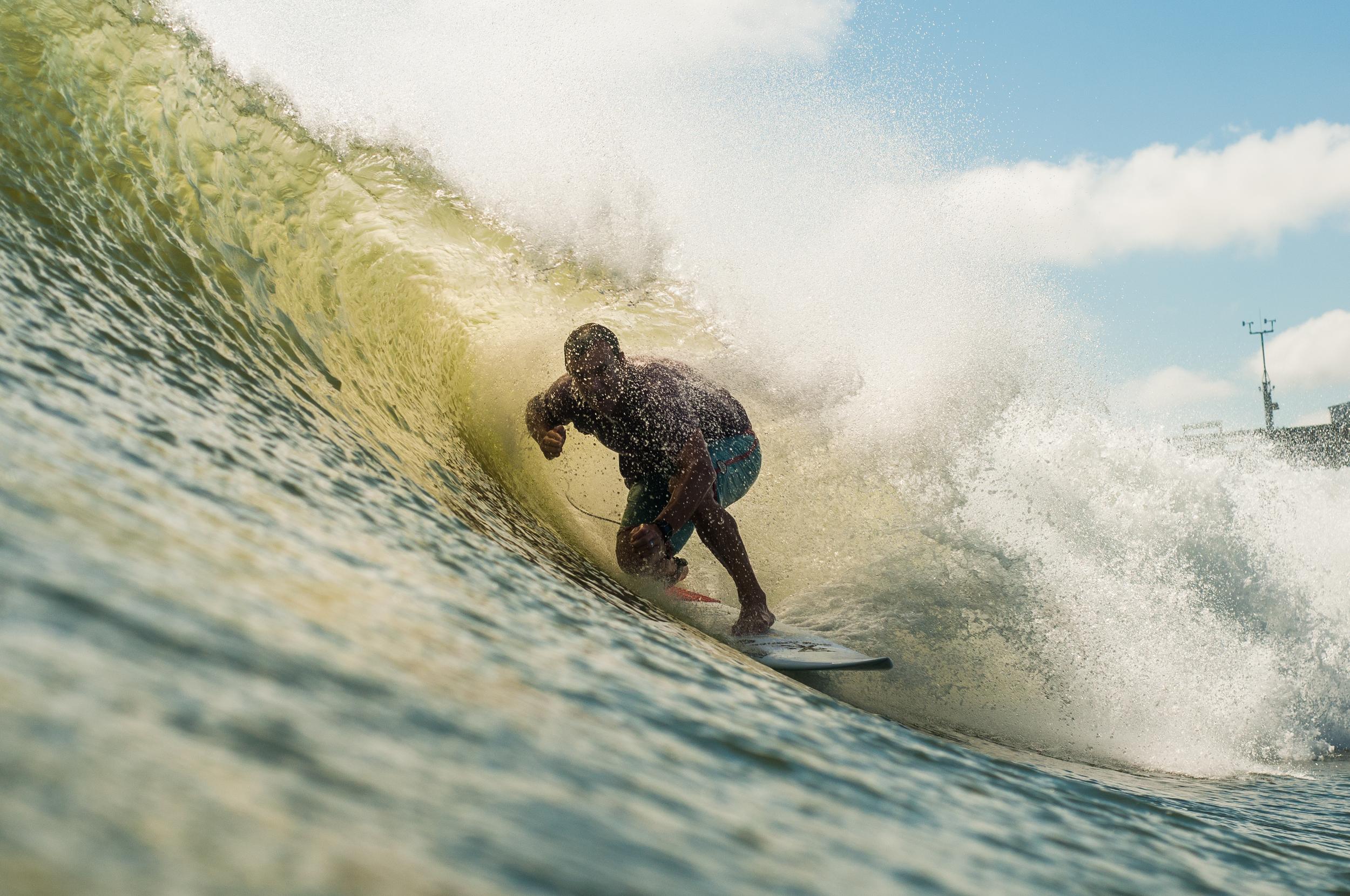 Peace out! Surfer | Gabe Kling