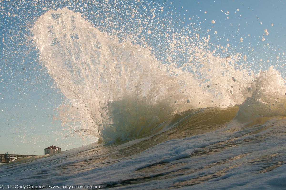 Water displacement via Evan Brownell...