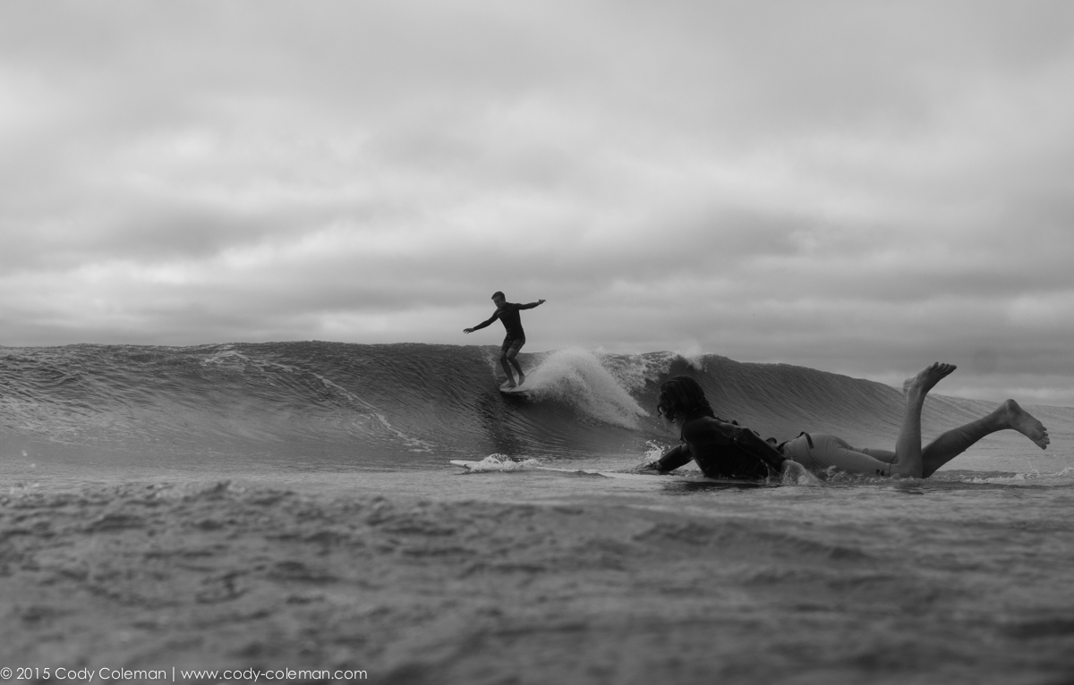 Watching your friends get perfect waves never gets old!