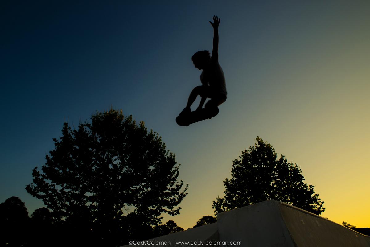 Pre-Sunrise Tweaked Silhouette  |  Kobi Devlin  |  6:40am