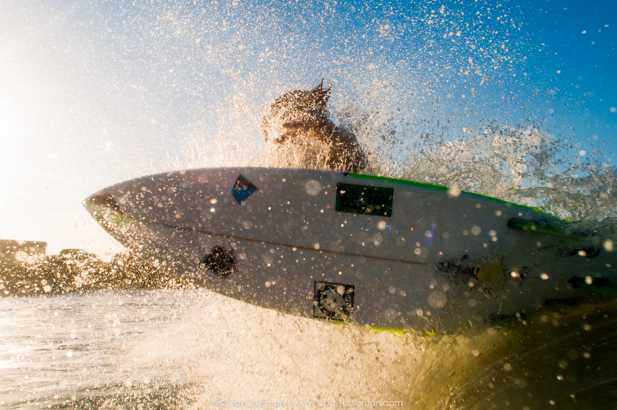 Evan Brownell Blasting into the sunset 2 nights ago...