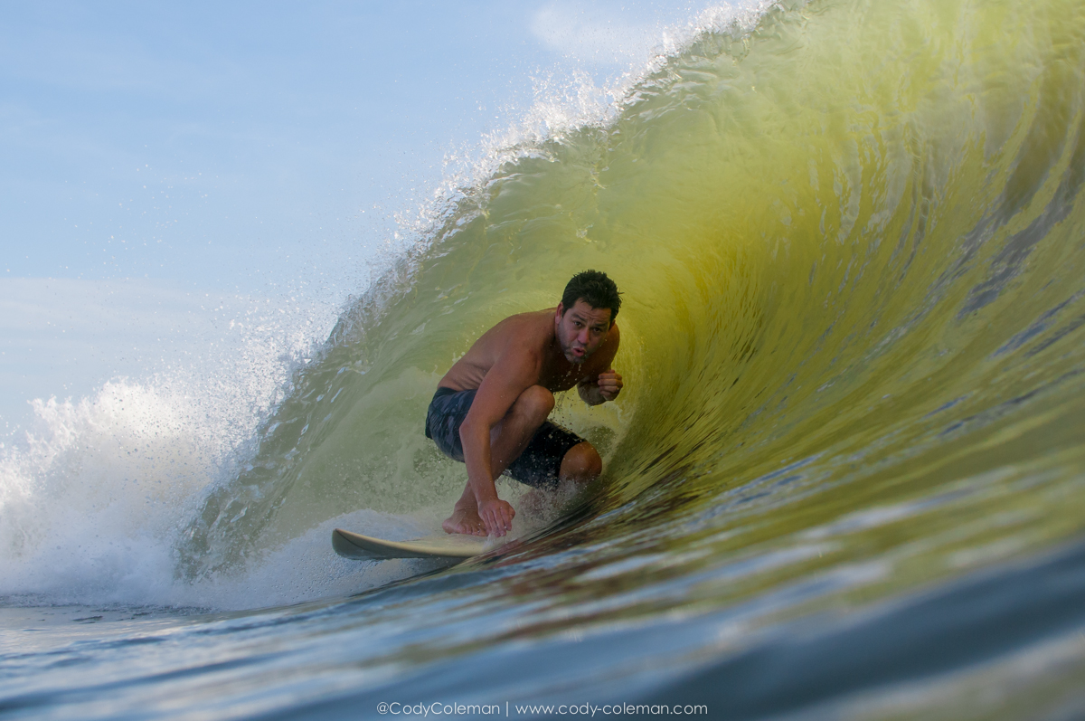 Wave of the day... Sam Ruffin