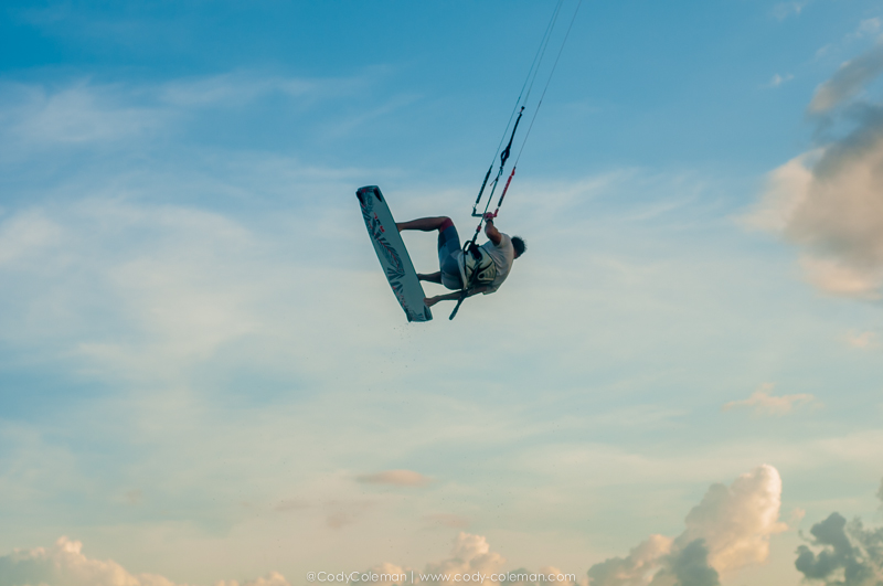 Such a beautiful canvas for a kiteboarding portrait :)