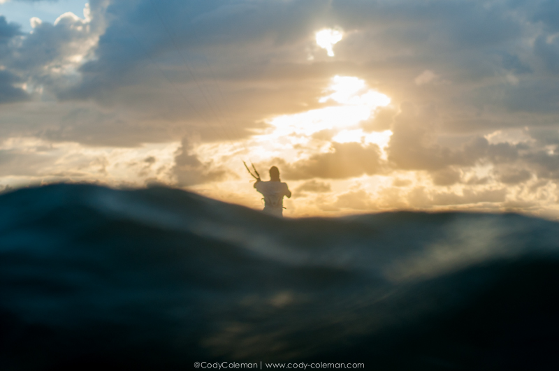Brian Sullivan cruising off into the sunset.