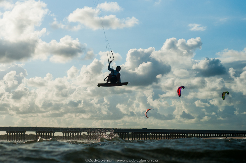 Kiting with friends is fun...