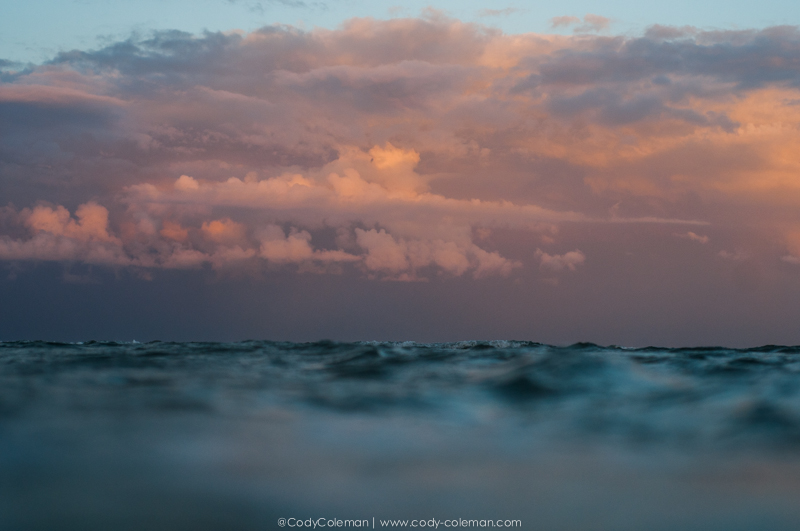 Just as I began to swim in I turned around to this view. The last image of the night...  I hope everyone enjoyed the series & contact me with any questions or inquiries...