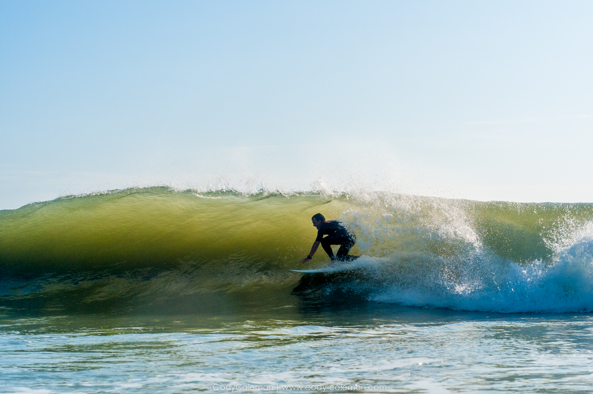 Gabe just passing by... Seriously, I have never whitnessed so many barrels in one week.