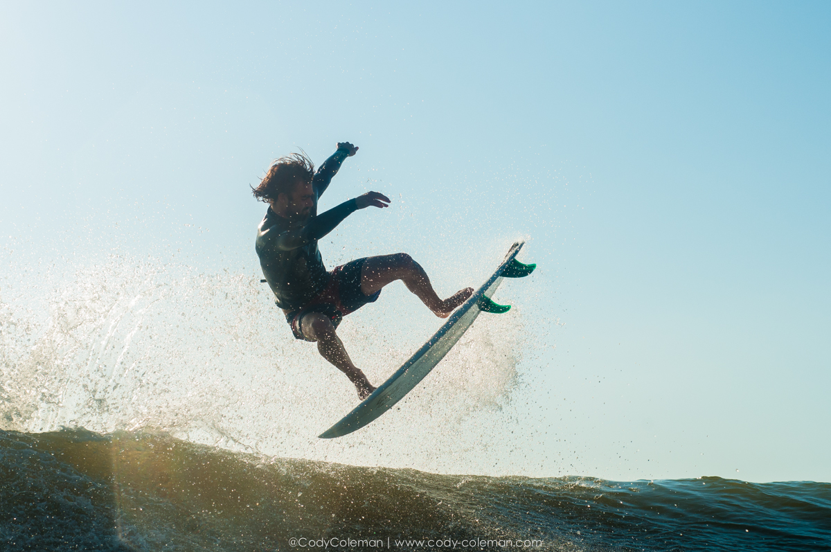 Seth Conboy utilizing an inside section before taking the board to the face...