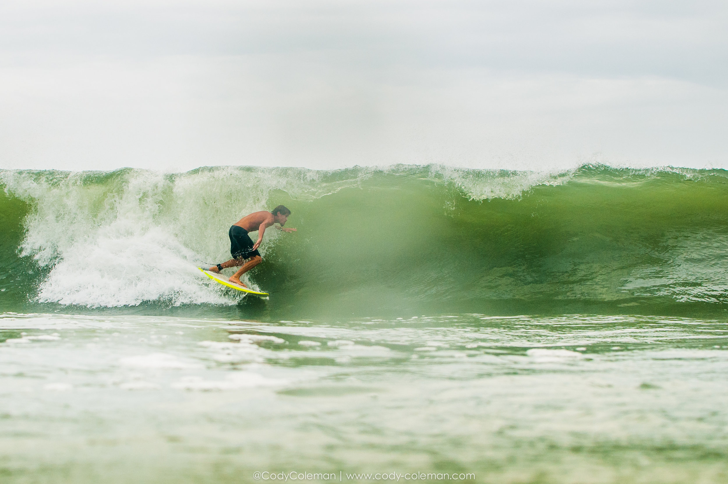 Alecs first wave on Wednesday. Not a maker, but set the tone for sure...
