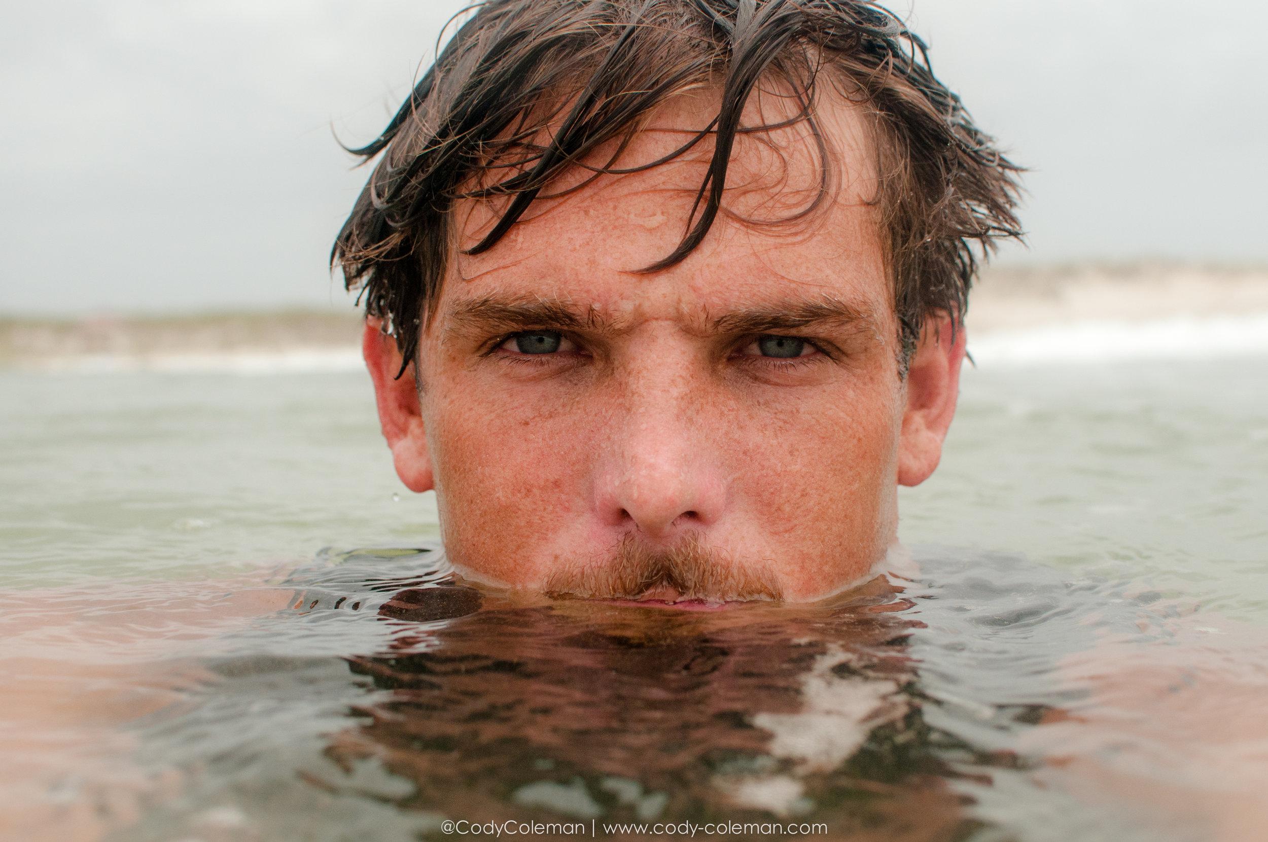 Just your average salt water addict!