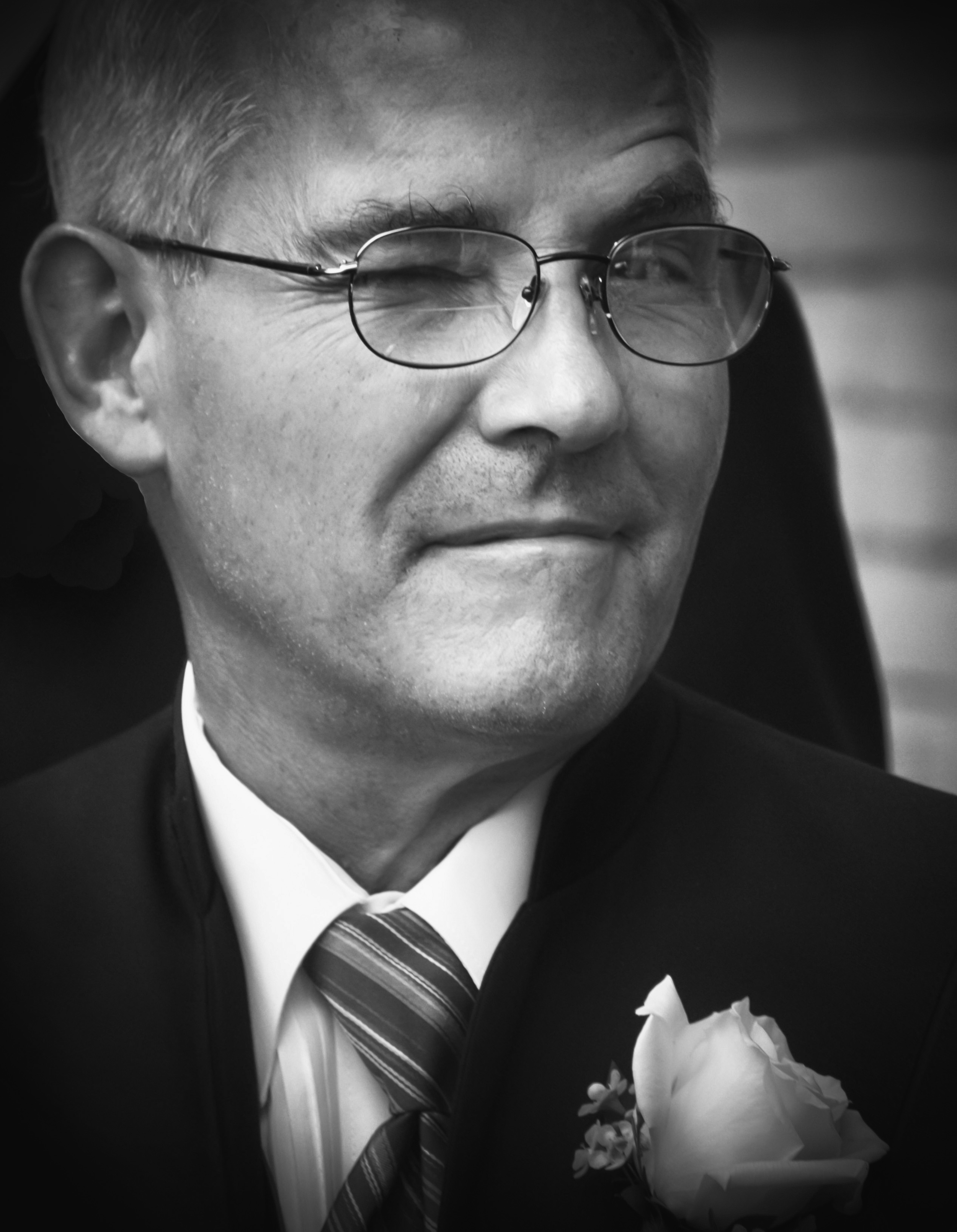 John   Father of the groom, Terry wedding, 2012